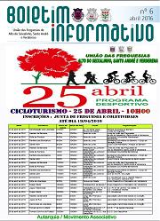 Boletim Informativo nº 6 Abril 2016