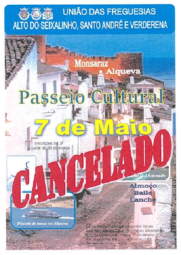 Passeio Sénior | CANCELADO