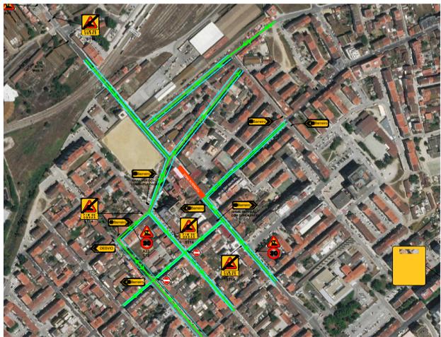 Obras - Rua Miguel Bombarda