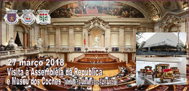 Visita Cultural à Assembleia da República e Museu dos Coches