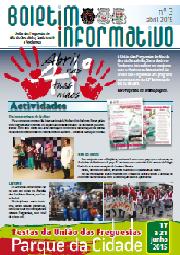 Boletim Informativo nº 3 (Abril 2015)