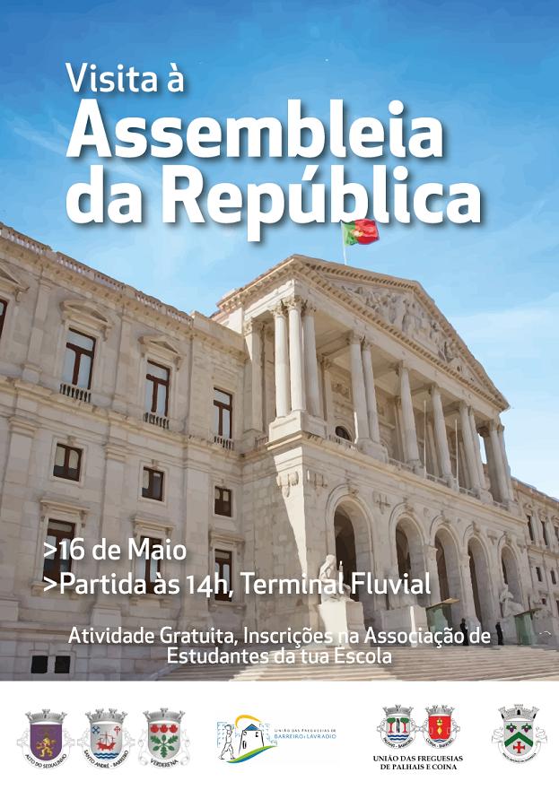 16 maio | Visita à Assembleia da República