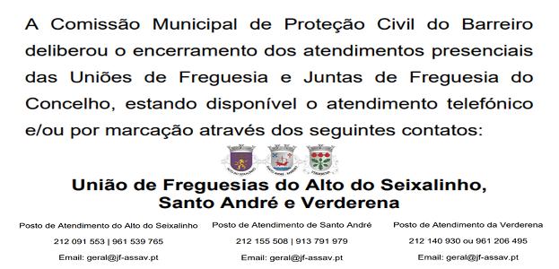 ATENDIMENTO PRESENCIAL ENCERRADO | Informações aqui