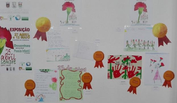 Concurso de Desenho e Poesia - 25 de Abril