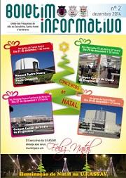 Boletim informativo nº 2 (Dezembro 2014)